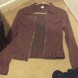 Brown thin jacket 🧥